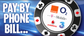 PHONE BILL CASINOS UK